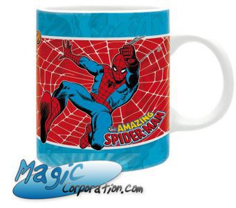 "Goodies MARVEL - Mug/Tasse - 320 ml - ""SPIDERMAN Vintage"""