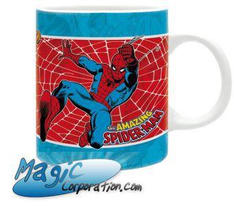 "Goodies Accessoires Pour Cartes MARVEL - Mug/Tasse - 320 ml - ""SPIDERMAN Vintage"""