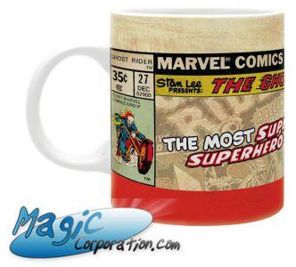 "Goodies Accessoires Pour Cartes MARVEL - Mug/Tasse - 320 ml - ""GHOST RIDER Vintage"""