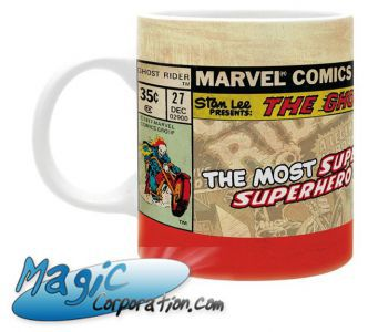 "Goodies  MARVEL - Mug/Tasse - 320 ml - ""GHOST RIDER Vintage"""