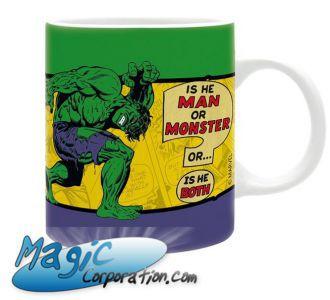 "Goodies Accessoires Pour Cartes MARVEL - Mug/tasse - 320 ml - ""Hulk Vintage"""
