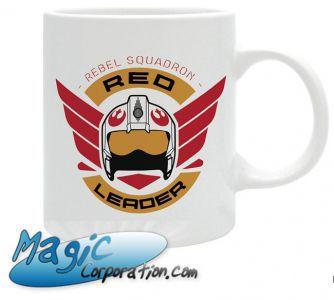 "Goodies Accessoires Pour Cartes STAR WARS - Mug/Tasse - 320 ml - ""Rogue One/ RedSquadron"""