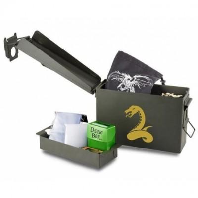 Boites de rangement illustrées Accessoires Pour Cartes Deck Box - WAR Caisse - Jungle Serpent