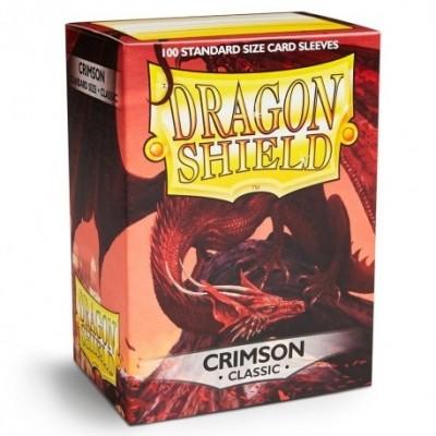 Protèges Cartes Accessoires Pour Cartes 100 pochettes Dragon Shield - Crimson - ACC