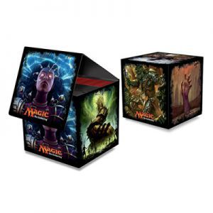 Boites de rangement illustrées Accessoires Pour Cartes Deck Box Ultra Pro - Cube - Brainstorm - Magic The Gathering - ACC