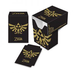Boites de rangement illustrées  Deck Box - The Legend of Zelda - Black and Gold