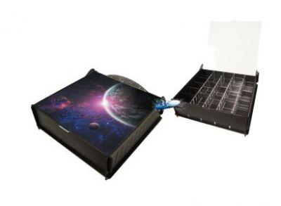 Boites de rangement illustrées Accessoires Pour Cartes Box e-Raptor - Trading Card Storage Ultimate Box - Outer Space - ACC