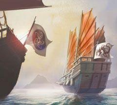 Pirates of the South China Seas Pirates 106 - Trade Route (Treasure) - Pirates of the South China Seas