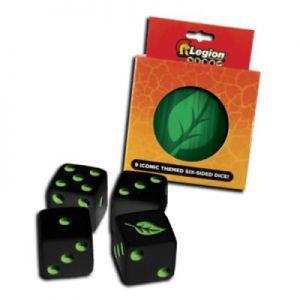 Dés et compteurs Accessoires Pour Cartes Legion - 9x D6 Dice Tin - Iconic Life - Acc