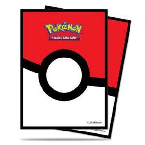 Protèges Cartes illustrées Accessoires Pour Cartes 65 Pochettes Ultra Pro - Pokémon - Pokéball - ACC