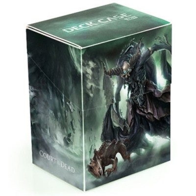 Boites de rangement illustrées  Deck Case 80+ - Court of the Dead - Death's Executioner