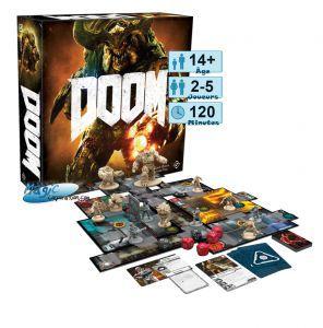 Thème : Jeu vidéo Jeux de Plateau Doom : The Board Game