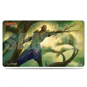 Tapis de Jeu Magic the Gathering La Révolte Héthérique - Playmat - Rishkar, Renégat De Peema