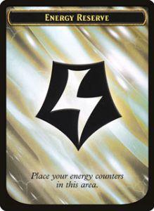 Token Magic Token/Jeton - Révolte Ethérique - Réserve D'énergie