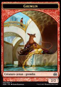 Tokens Magic Accessoires Pour Cartes Token/Jeton - Révolte Ethérique N°1 - Gremlin