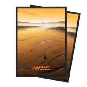 Protèges Cartes illustrées Magic the Gathering Unhinged - 80 Pochettes - Plaine
