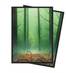 Protèges Cartes illustrées Accessoires Pour Cartes Unhinged - 80 Pochettes - Forêt