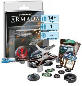 Thème : Espace Jeux de Plateau Star Wars Armada : Transports Rebelles (Extension de campagne)