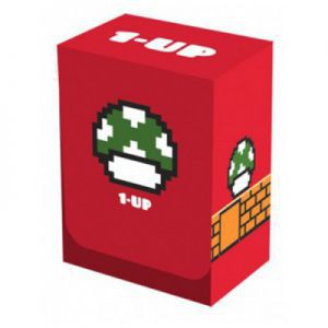 Boites de rangement illustrées  Deck Box - Super Mario 1-UP