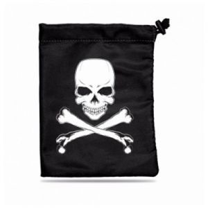 Dés et compteurs  Dice Bag - Skull & Bones