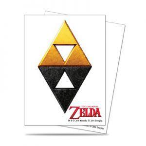 Protèges Cartes illustrées Accessoires Pour Cartes 65 Pochettes Ultra Pro - The Legend of Zelda - Tri-Force - ACC