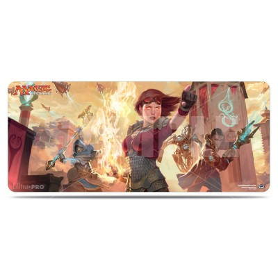 Tapis de Jeu Magic the Gathering La Révolte Ethérique - Playmat pour 8 personnes