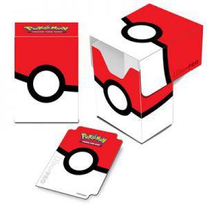 Boites de rangement illustrées Accessoires Pour Cartes Deck Box Ultra Pro - Pokemon - Pokeball version 2 - ACC