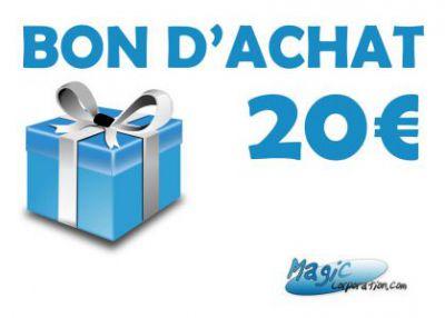 Bons Cadeaux Accessoires Pour Cartes Carte Cadeaux de 20€