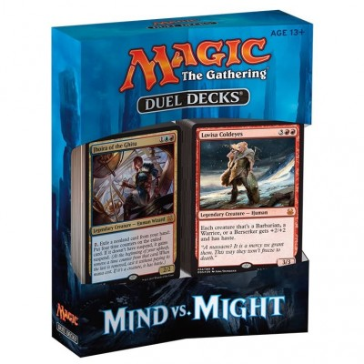 Duel Decks Magic the Gathering Duel Decks : Mind Vs. Might - Bleu/rouge/vert - (EN ANGLAIS)