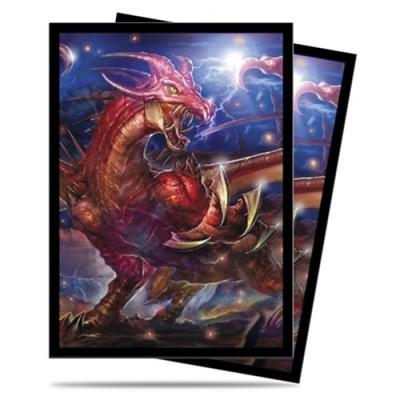 Protèges Cartes illustrées Accessoires Pour Cartes 60 Pochettes Legion - EPIC - Draka, Dragon Tyrant - ACC