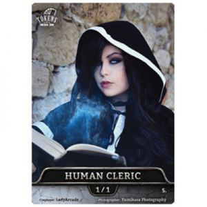 Tokens Magic Token/jeton foil - Human Cleric