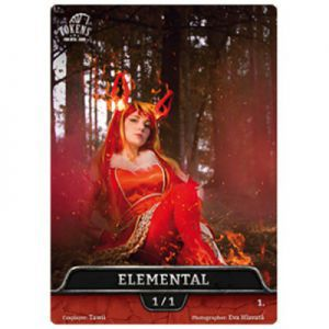Tokens Magic Magic the Gathering Token/jeton foil - Elemental (Photo)