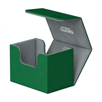 Boites de Rangements Accessoires Pour Cartes Deck Box Ultimate Guard - Skin - Vert - Sidewinder 80 - Acc
