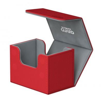 Boites de Rangements Accessoires Pour Cartes Deck Box Ultimate Guard - Skin - Rouge - Sidewinder 80 - Acc