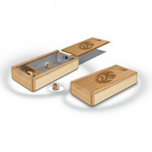 Dés et compteurs Accessoires Pour Cartes Ultra Pro - Boite Premium Wood Dice Box - The Ark - ACC