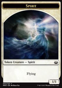 Tokens Magic Magic the Gathering Token/Jeton - Modern Masters 2017 - 04/21 Esprit