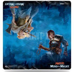 Tapis de Jeu Magic the Gathering Double - Duel Deck PlayMat - Mind VS Might