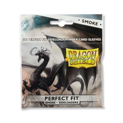 Protèges Cartes 100 Pochettes - Perfect Fit Sideloaders - Smoke
