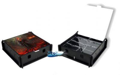 Boites de rangement illustrées Accessoires Pour Cartes Box e-Raptor - Trading Card Storage Small Box - Fire Revenant - ACC