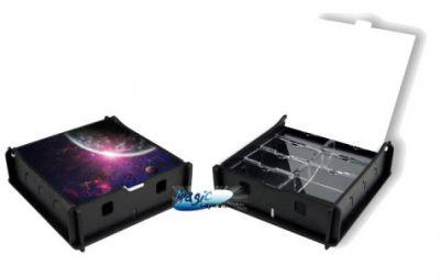 Boites de rangement illustrées Accessoires Pour Cartes Box e-Raptor - Trading Card Storage Small Box - Outer Space - ACC