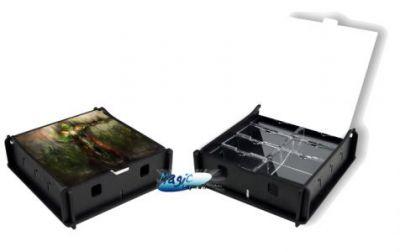 Boites de rangement illustrées Accessoires Pour Cartes Box e-Raptor - Trading Card Storage Small Box - Death King - Acc