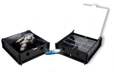 Boites de rangement illustrées Accessoires Pour Cartes Box e-Raptor - Trading Card Storage Small Box - Spaceship - ACC