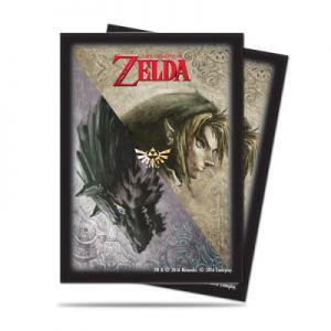 Protèges Cartes illustrées Accessoires Pour Cartes 65 Pochettes Ultra Pro - The Legend of Zelda - Twilight Princess - ACC