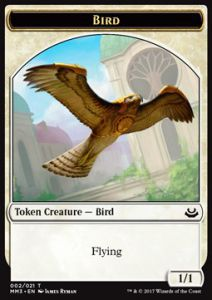 Tokens Magic Magic the Gathering Token/Jeton - Modern Masters 2017 - 02/21 Oiseau