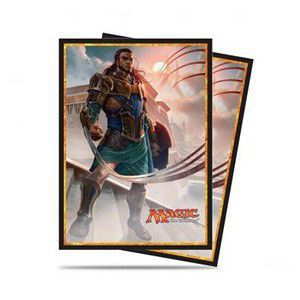 Protèges Cartes illustrées Magic the Gathering Amonkhet - 80 Pochettes - Gideon Jura