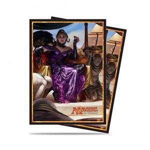 Protèges Cartes illustrées Accessoires Pour Cartes Amonkhet - 80 Pochettes - Liliana Vess