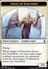 Token Magic Token/jeton - Amonkhet - 01/25 Ange Des Condamnations