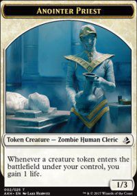 Tokens Magic Magic the Gathering Token/jeton - Amonkhet - 02/25 Prêtresse Consécratrice
