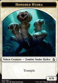 Tokens Magic Magic the Gathering Token/jeton - Amonkhet - 07/25 Hydre Honorée