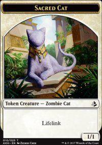 Token Magic Token/jeton - Amonkhet - 10/25 Chat Sacré